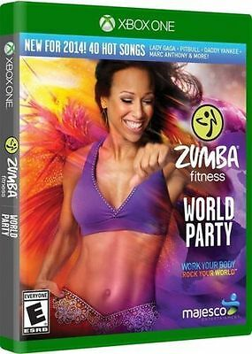 Zumba Fitness World Party  Xbox One Game Brand New Sealed