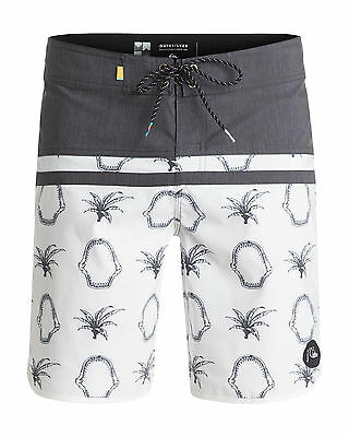 "NEW QUIKSILVER™  Mens Stomp Mix Scallop 19"" Boardshort Surf Board Shorts"