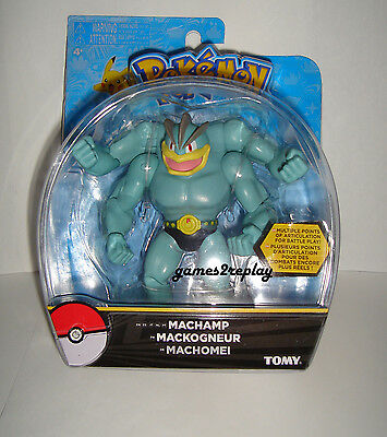 "New Official Tomy Pokemon 6"" Action Figure * Machamp * Uk Stock Free P&p"
