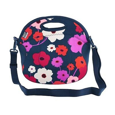 BUILT NY Spicy Relish Lunch Bag/ Food Tote - Lush Flower