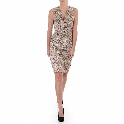 Women's By Malene Birger Womens Izzie Dress In Brocade Gold