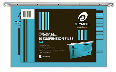 Olympic Easyglide Suspension File 10 Pack - Blue