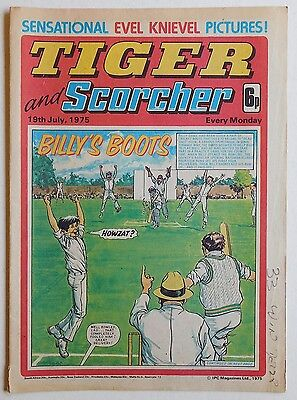 TIGER & SCORCHER Comic - 19th July 1975