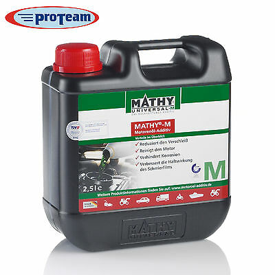 Mathy® M 2,5 Liter  Motoröl - Additiv  SAE 0- 60 Winterpreis !!!