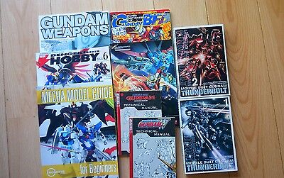 gundam books and magazines