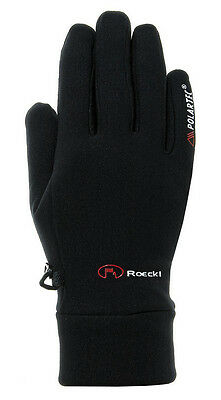Roeckl Aaliyah Polartec Finger Gloves Power Stretch Breathing  wind proof