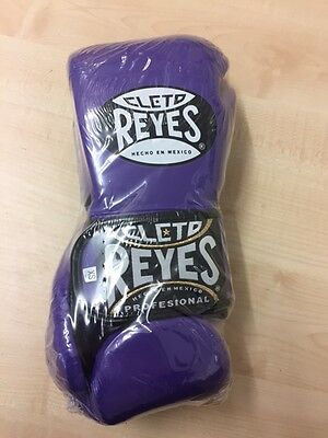 Authentic Cleto Reyes purple leather Extra small hybrid training gloves