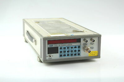 EIP 25B CW Microwave Frequency Counter  10Hz-20GHz used