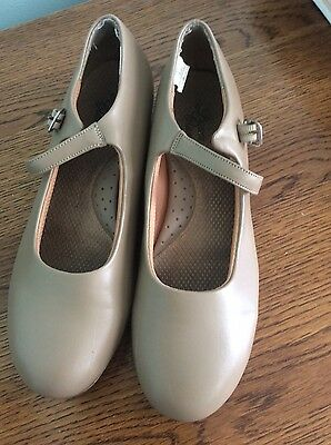 Ladies Nude Character Shoes, Size 8.5