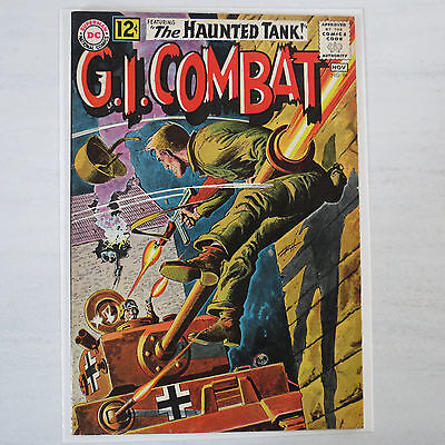 G I Combat  96 1962 VF 8.0 Silver Age Comic flat no tears minimal color break