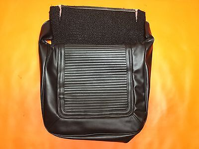 1964-65 Barracuda Bucket Seat Covers One Set Black Upholstery Bottom Plymouth