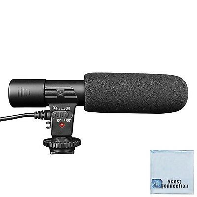 Professional Directional Condenser Shotgun Microphone for DSLR Cameras an... NEW