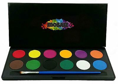 Face Paint Set Water Activated Professional Body Paint Kits Children face... NEW