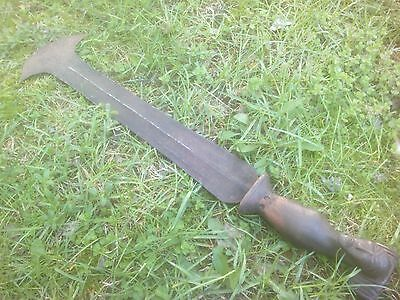 Congo Knife old Africa used sword