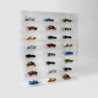Model Car Wall Display Case | Display Cabinet | Collectable Wall Mounted Cabinet