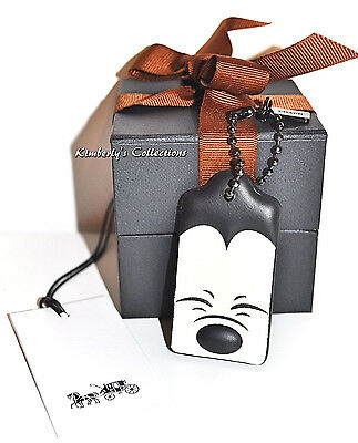 COACH X Disney LIMITED EDITION Squinting Mickey Mouse Bag Hangtag Charm NWT