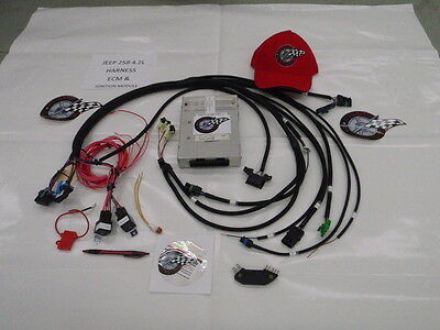 TBI WIRING HARNESS W/ECM 350 SBC 454 BBC TBI ENGINE SWAP