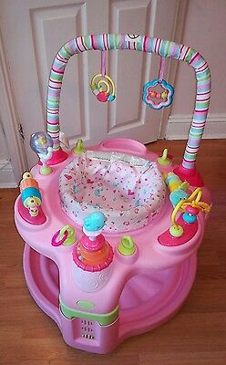 Bright Starts baby exersaucer activity centre bounce jumperoo entertain and grow