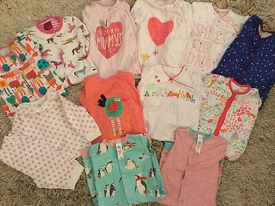 Babygro Sleepsuits Bundle. 12 Items. 6-9 Months .Next. Joules & Boden. Baby Girl