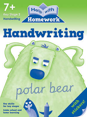 Help With Homework - Handwriting - 7+ Key Stage 2 *FREE P&P*