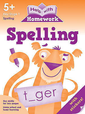 Help With Homework - Spelling - 5+ Key Stage 1 *FREE P&P*