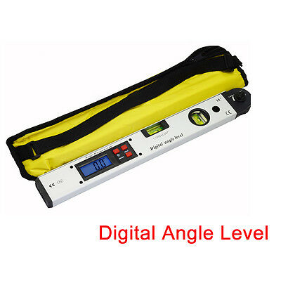 0°~225°LCD Digital Inclinometer Protractor Spirit Level Angle Finder Gauge Meter