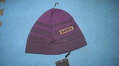 Ion Neo Stripe Beanie, Purple size large