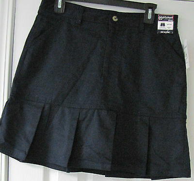 Girls French Toast Scooter Skirt With Hidden Comfort Short Navy