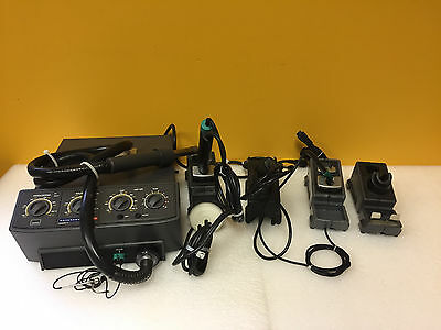 JBC Advanced AM6000 Advanced Series 2 Rework Station + Desoldering Irons + Accy
