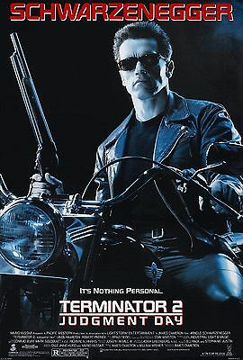 Terminator 2: Judgment Day (1991) Original Movie Poster  -  Rolled