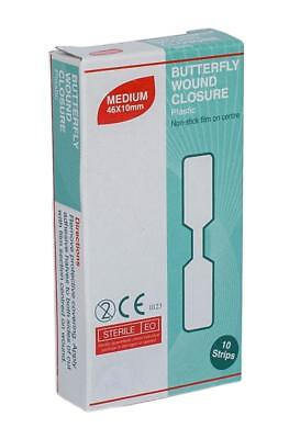 Uneedit Bf10 Sutures Butterfly Strip Pack 10