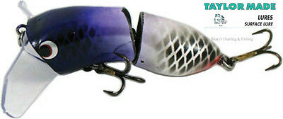 Taylor Made Cod-Walloper surface Lure articulated Lure;VP light purple/white