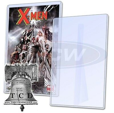 Bcw Comic Book Display Rigid Topload Holder With Stand Toploader Case Modern