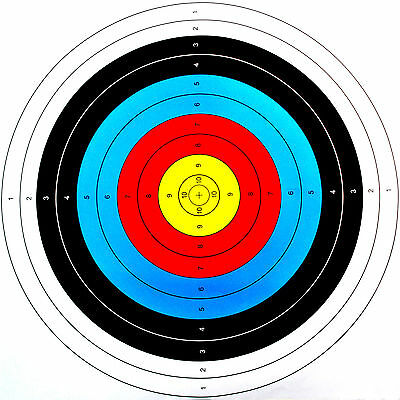 Outdoor 10pcs 60x60cm Archery Target Paper Face for Arrow Bow Shooting Hunting