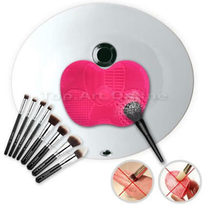 1pc Beauty Cosmetic Makeup Brush Cleaner Pad Washing Scrubber Board Cleaning Mat