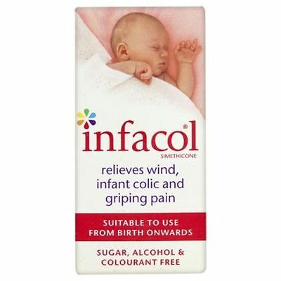 INFACOL 50ml BABY- Colic Relief Drops FREE EU
