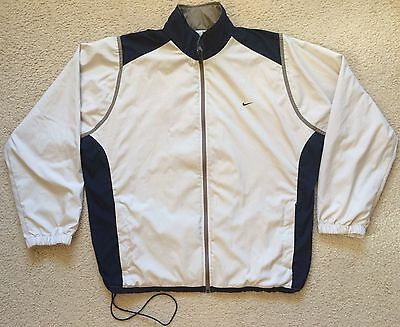 Nike Golf Jacket - Lined - Pockets - Soft Shell - Lightweight - Mens Size L VGC