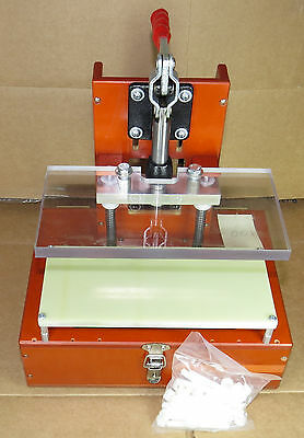 PCB Test Fixture Jig, Bed of Nails Pogo Fixture, Linear Slide Toggle 001