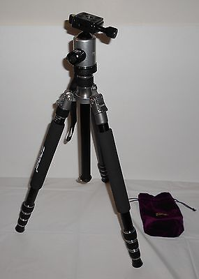 Zomei Z818 Silver Professional Compact Tripod Monopod,Ball Head for DSLR Camera