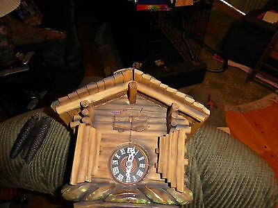 Antique Black Forest Cuckoo Clock Germany