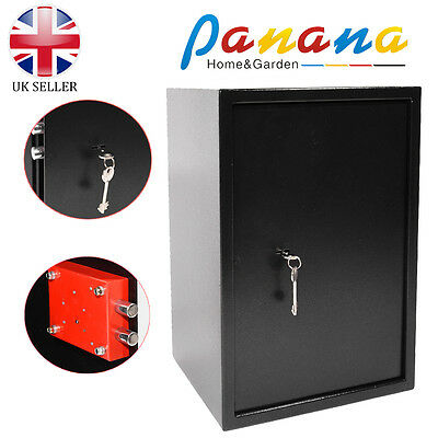 Panana High Security Large Safes Key Lock Office Home Cash Money Safety Box NEW
