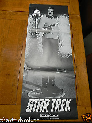Scarce Captain James Kirk Star Trek 1989 Titan Books Paramount Poster