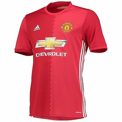 Manchester United Home 16/17 Football Shirt, BNWT, All Sizes!