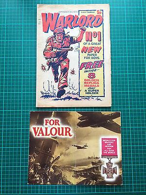 Warlord Comic #1 with rare free gift DC Thomson 1974 the holy grail of warlord