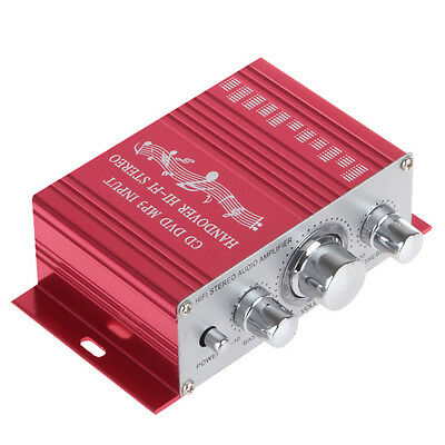 Red Color Handover Hi-Fi MP3 Car Stereo Amplifier Support CD DVD MP3 Input