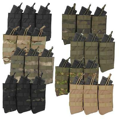 Fields Quick Release Triple Mag Pouch AK Model Fast Load Army Airsoft Molle 3097