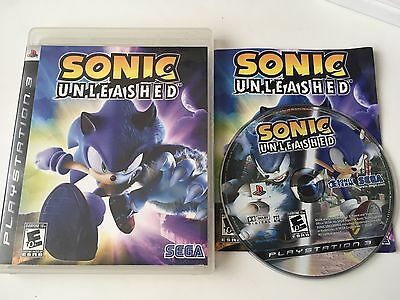 Sonic Unleashed for Sony PlayStation 3, 2008 PS3 Game Complete