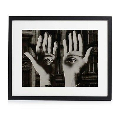 "Herbert Bayer Bauhaus Photographic Fine Art Framed Print 20"" x 16"""