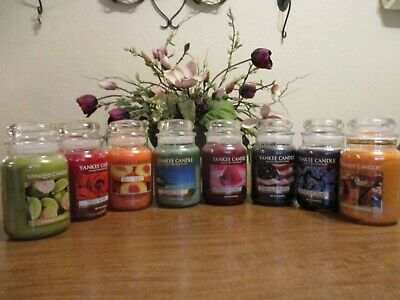 Yankee Candle 22Oz Jars You Choose Scents