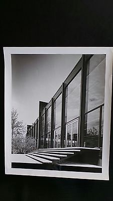 Mies van der Rohe Vintage Gelantine Silver Photo with Mies Studio stamp